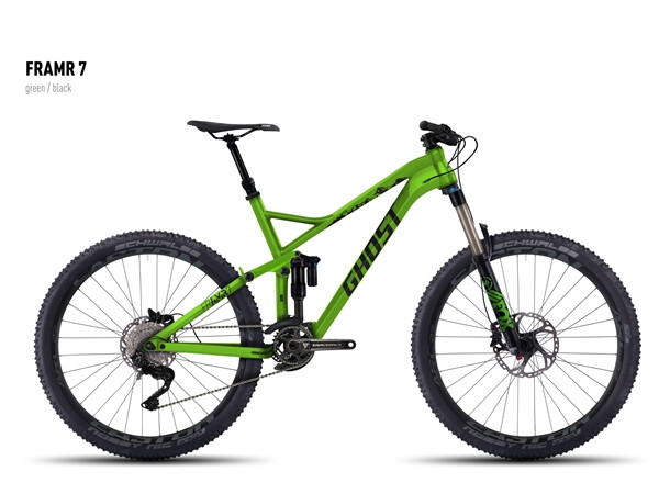 GHOST - FRAMR 7 green/black