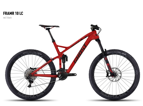 GHOST - FRAMR 10 LC red/black