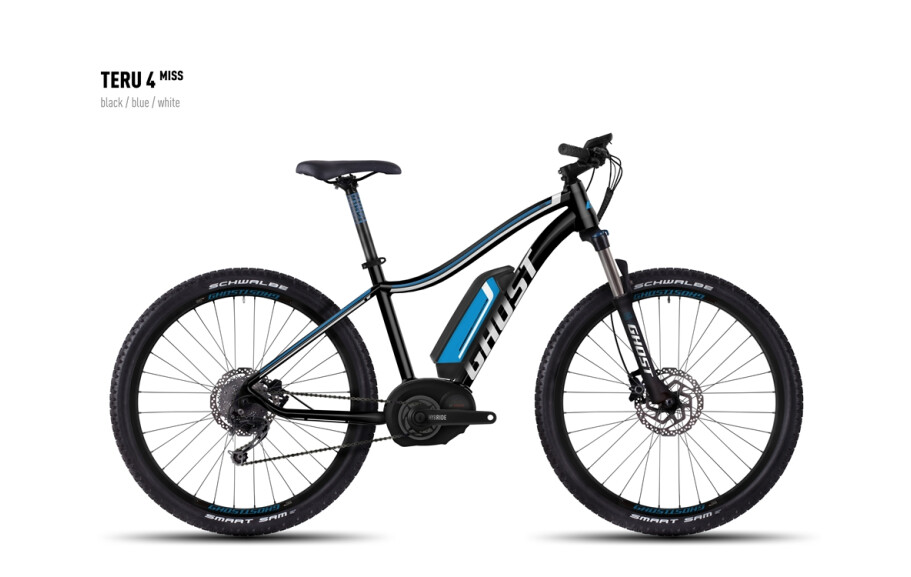 Ghost E-Bike Teru 4 Miss black/blue/white