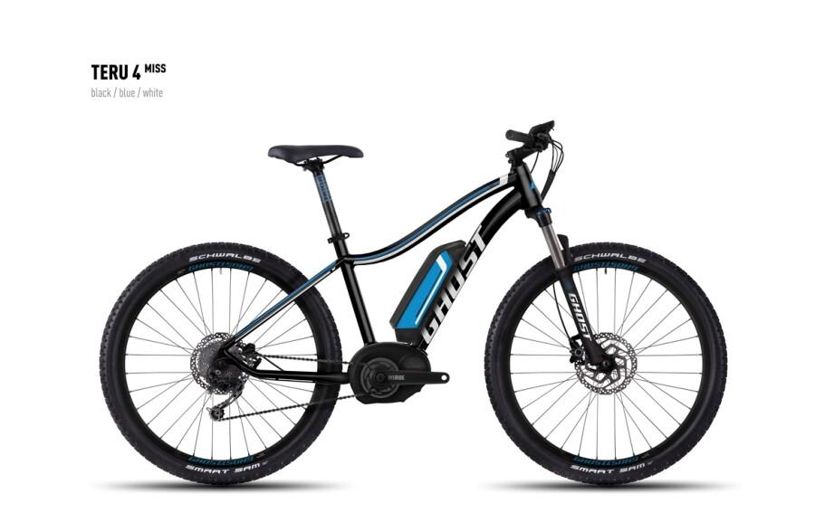 Ghost E-Bike Teru 4 Miss black/blue/white