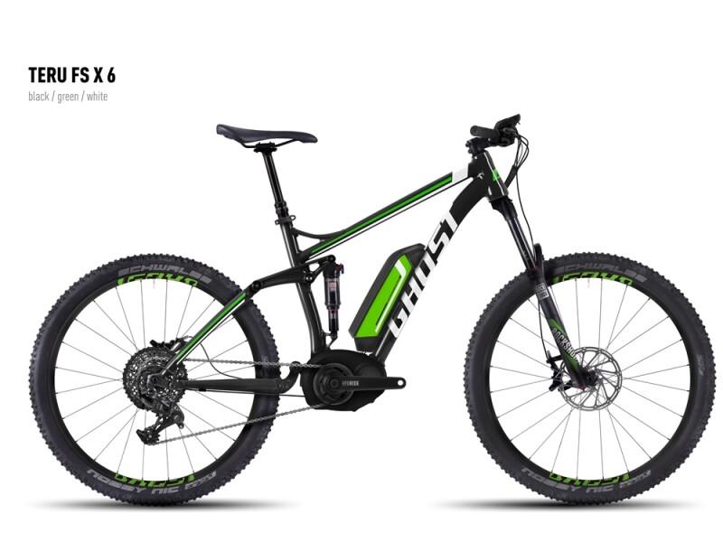Ghost Teru FS X 6 black/green/white