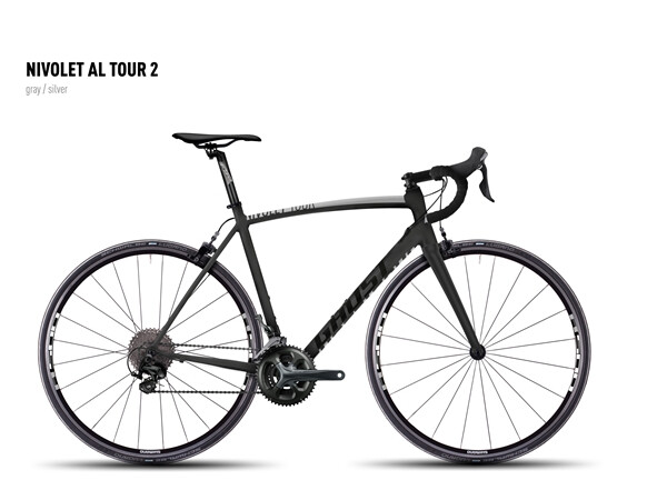 GHOST - NIVOLET AL TOUR 2 gray/silver