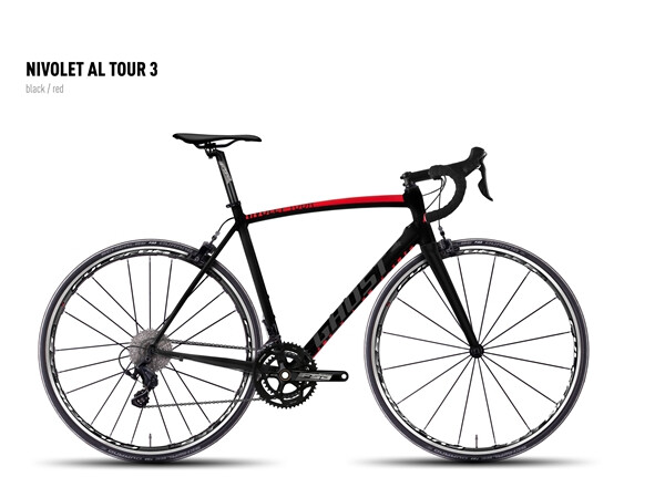 GHOST - NIVOLET AL TOUR 3 black/red