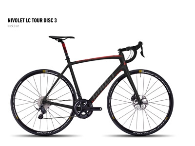 Ghost - NIVOLET LC TOUR DISC 3 black/red Angebot