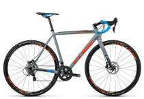 CUBE - Cross Race SL grey´n´flashorange