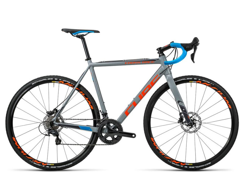 Cube Cross Race SL grey´n´flashorange