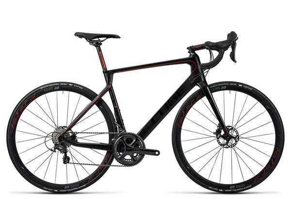 CUBE - Agree C:62 Race Disc carbon´n´flashred