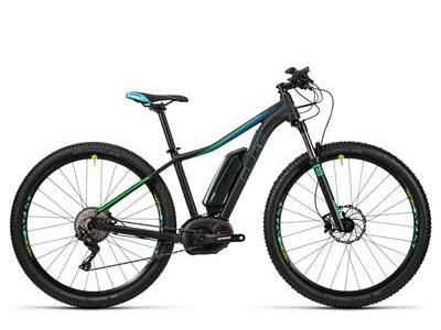 Cube Access WLS Hybrid Race 400 black/aqua/flashgreen