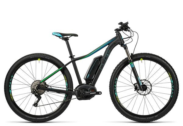 CUBE - Access WLS Hybrid Race 400 black/aqua/flashgreen