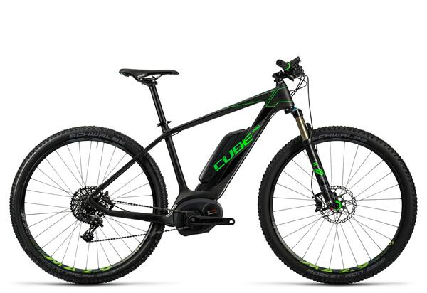 CUBE - Elite Hybrid C:62 SL 500 29 black´n´flashgreen