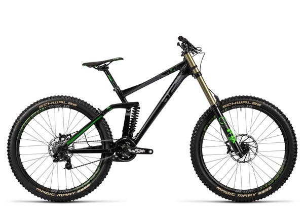 CUBE - TWO15 HPA Race 27.5 black´n´green
