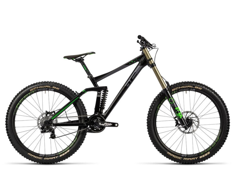Cube TWO15 HPA Race 27.5 black´n´green
