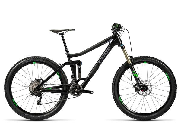CUBE - Stereo 160 C:62 Race 27.5 carbon´n´green