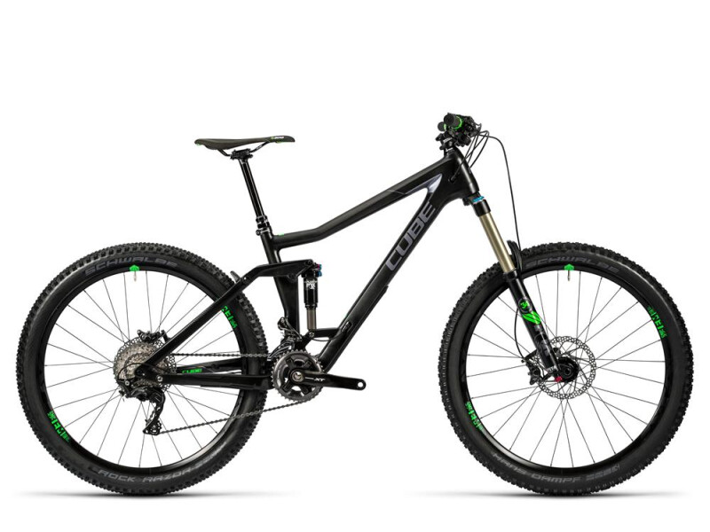 Cube Stereo 160 C:62 Race 27.5 carbon´n´green