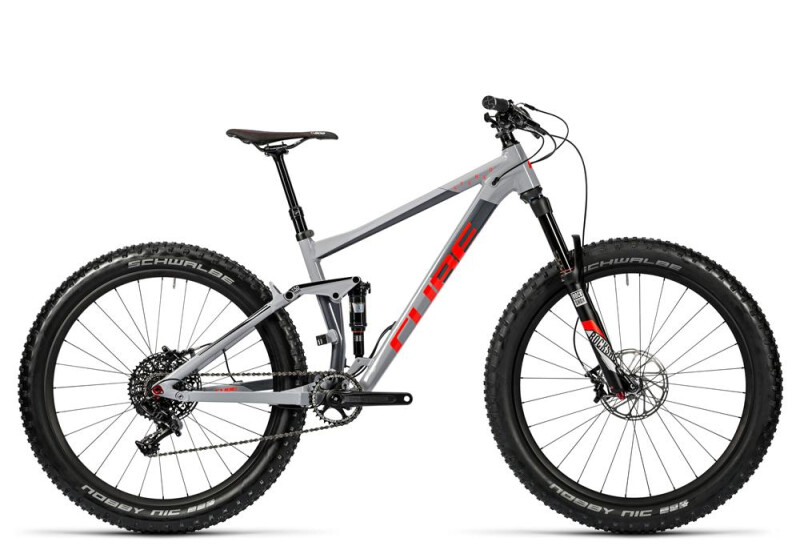 Cube Stereo 150 HPA Race 27.5+ grey´n´flashred Mountainbike