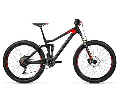 Cube Stereo 140 C:62 Race 27.5 carbon´n´flashred