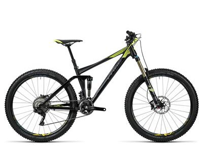 Cube Stereo 140 HPA Race 27.5 black´n´flashyellow