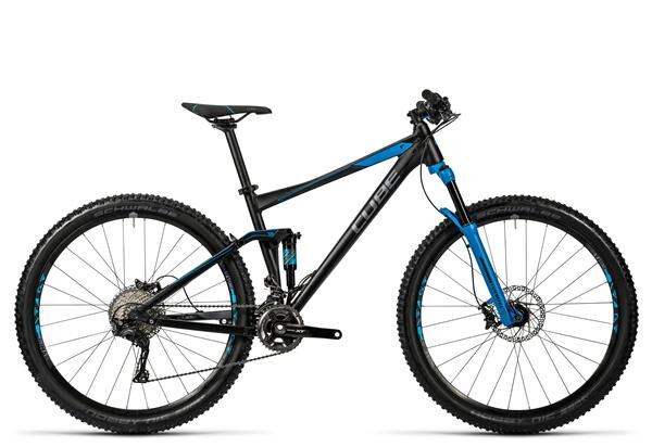 CUBE - Stereo 120 HPA Race black´n´blue