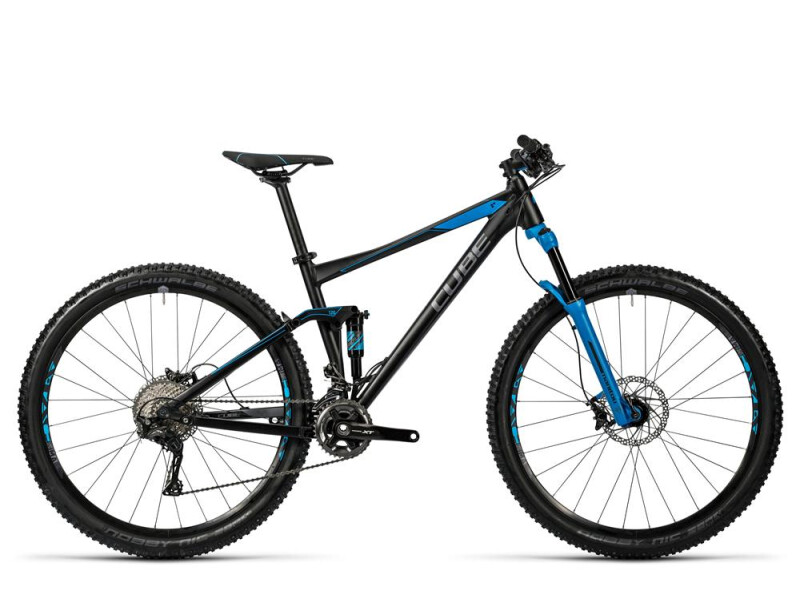 Cube Stereo 120 HPA Race black´n´blue