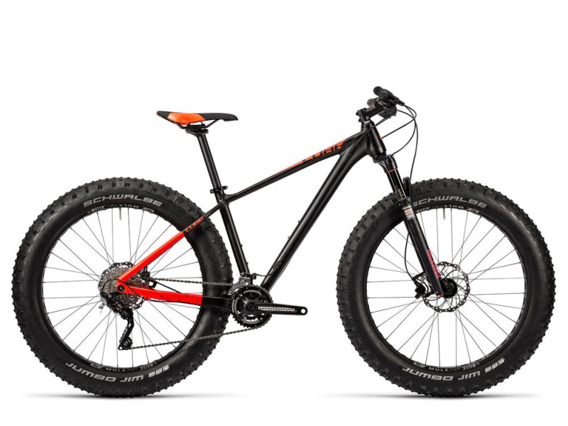 Cube Nutrail black´n´flashred