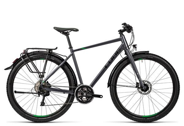 CUBE - Travel Exc grey black flashgreen