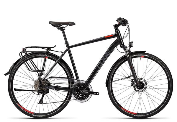 CUBE - Touring SL black grey red