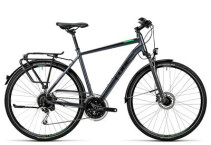 CUBE - Touring Exc grey black flashgreen