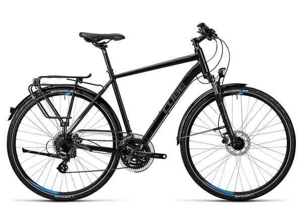 CUBE - Touring Pro black grey blue