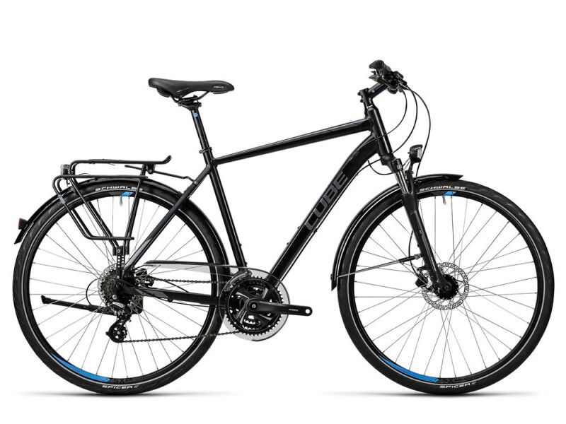 Cube Touring Pro black grey blue