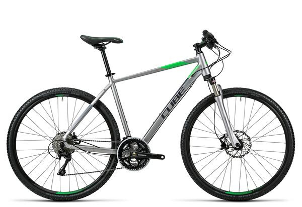 CUBE - Cross Pro silver grey green