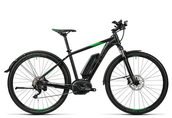 CUBE - Cross Hybrid Race Allroad 500 black´n´green