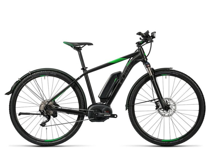 Cube Cross Hybrid Race Allroad 500 black´n´green