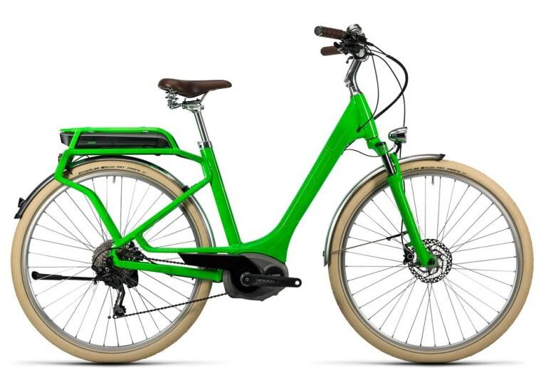 CUBEElly Ride Hybrid 400 flashgreen´n´kiwi