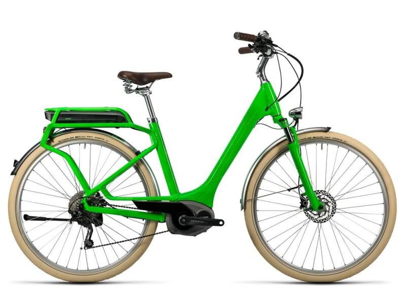 Cube Elly Ride Hybrid 400 flashgreen´n´kiwi