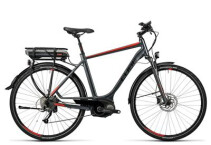 CUBE - Touring Hybrid 400 grey´n´red