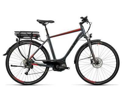 Cube Touring Hybrid 400 grey´n´red