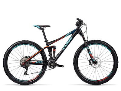 Cube Sting WLS 120 Race black´n´blue