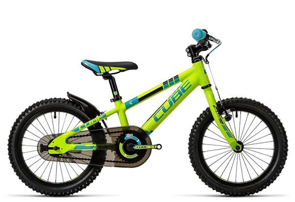 CUBE - Kid 160 green´n´blue