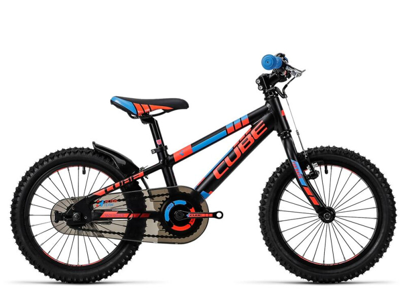 Cube Kid 160 black´n´flashred´n´blue