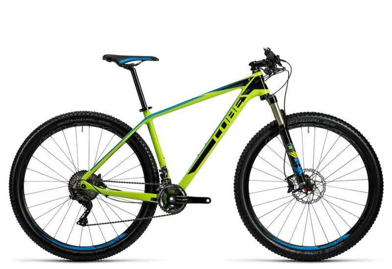 Cube Reaction GTC SL 2x kiwi´n´blue Mountainbike