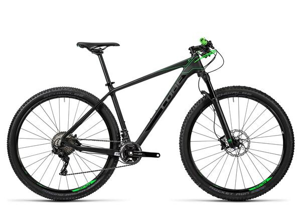 CUBE - Reaction GTC Race 2x carbon´n´green