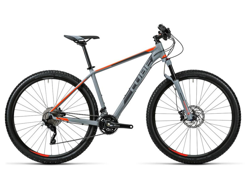 Cube Acid grey´n´flashorange Mountainbike
