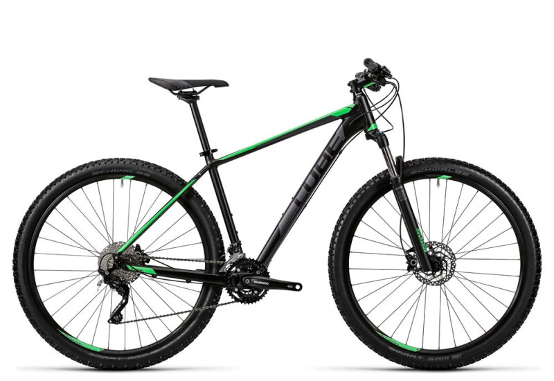 Cube Attention black´n´green Mountainbike
