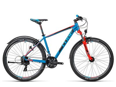 Cube Aim Allroad 27.5 caribbeanblue´n´flashred