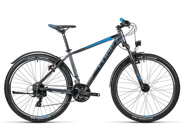 CUBE - Aim Allroad 27.5 grey´n´blue
