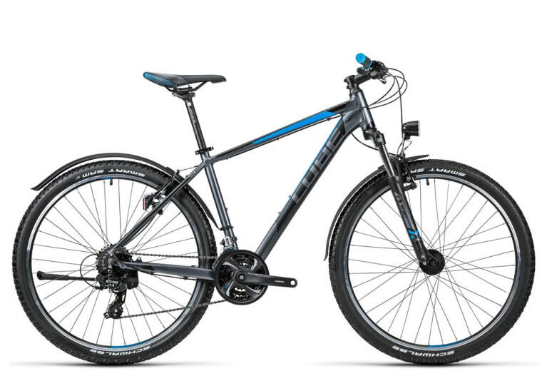 CUBE Aim Allroad 27.5 grey´n´blue
