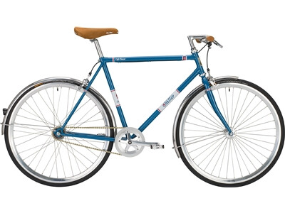 Falter Café Racer blau