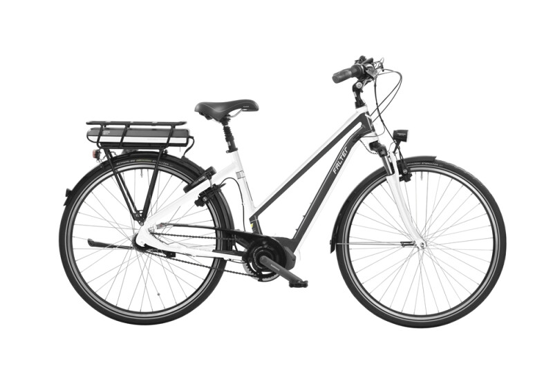 Falter E 8.8 RT Trapez weiß anthrazit E-Bike