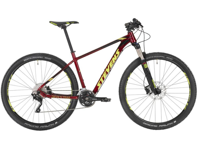 "Stevens Devil´s Trail 29"" Red"
