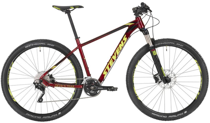 "Stevens Devil´s Trail 29"" Red Mountainbike"